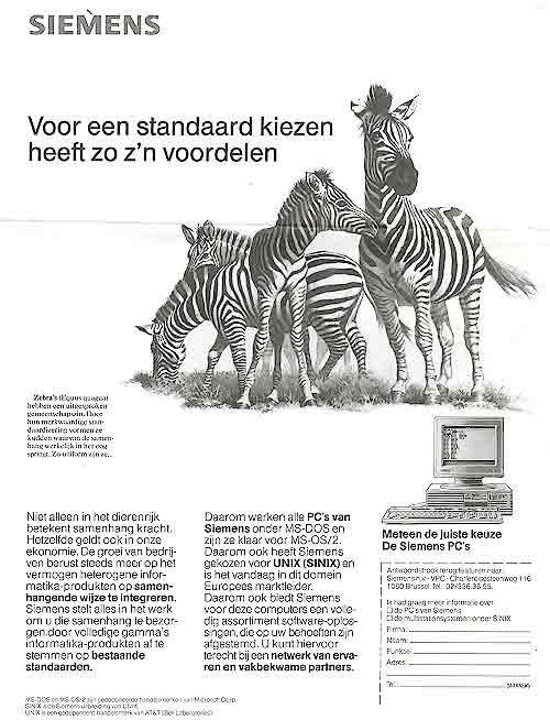 Animals in advertisements - Horses, Zebra